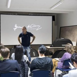 "Workshop ""The Secrets of lightshaping"" met Brendan de Clercq"