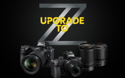 UPGRADE TO Z – NIKON KASSAKORTING ACTIE