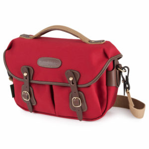 HADLEY SMALL PRO - BURGUNDY/CHOCOLATE CANVAS