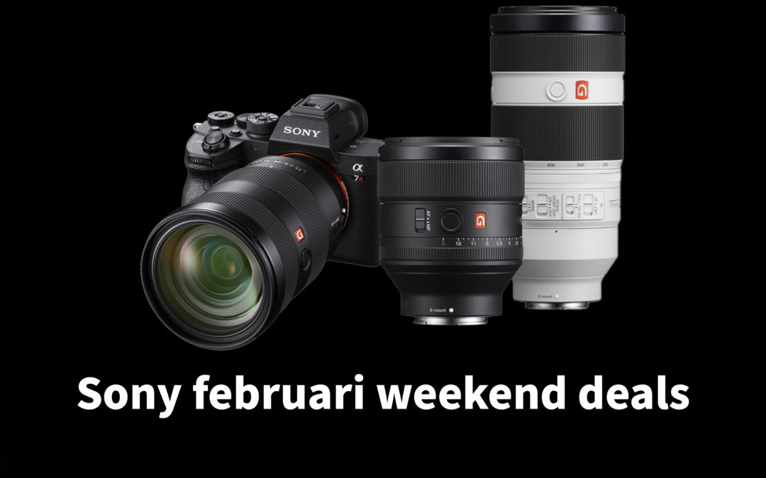 Sony februari weekend deals